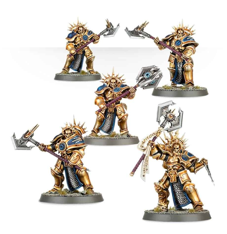 Some decimators useable in a Warcry stormcast eternals warrior chamber warband
