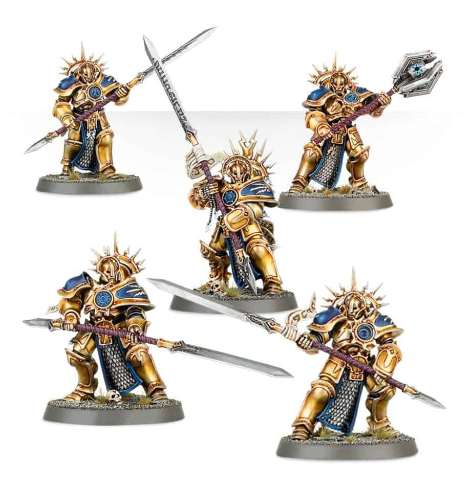 Some protectors useable in a Warcry stormcast eternals warrior chamber warband