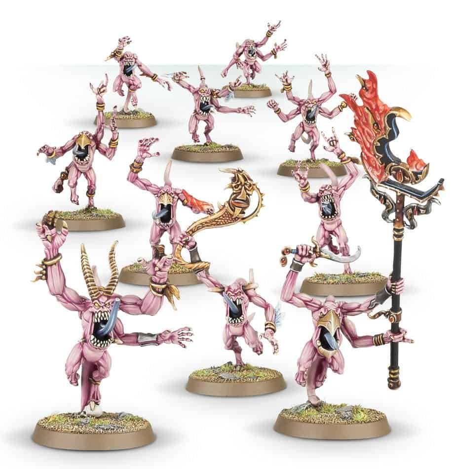 Horrors of Tzeentch for the Daemons of Tzeentch Warcry Warband
