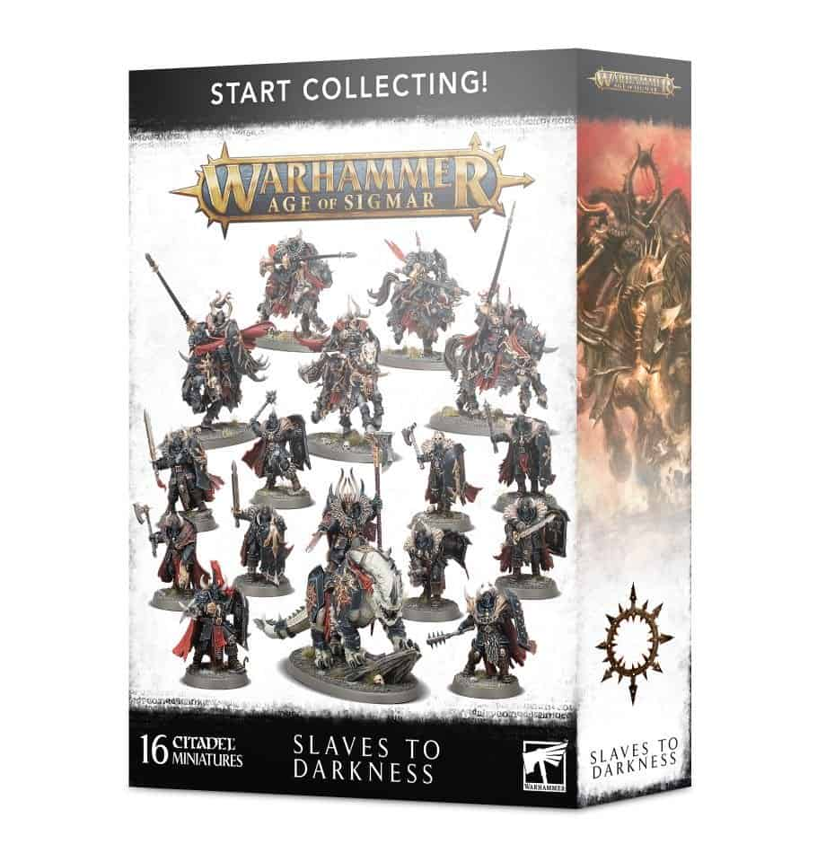 Review of Start Collecting Slaves to Darkness Box