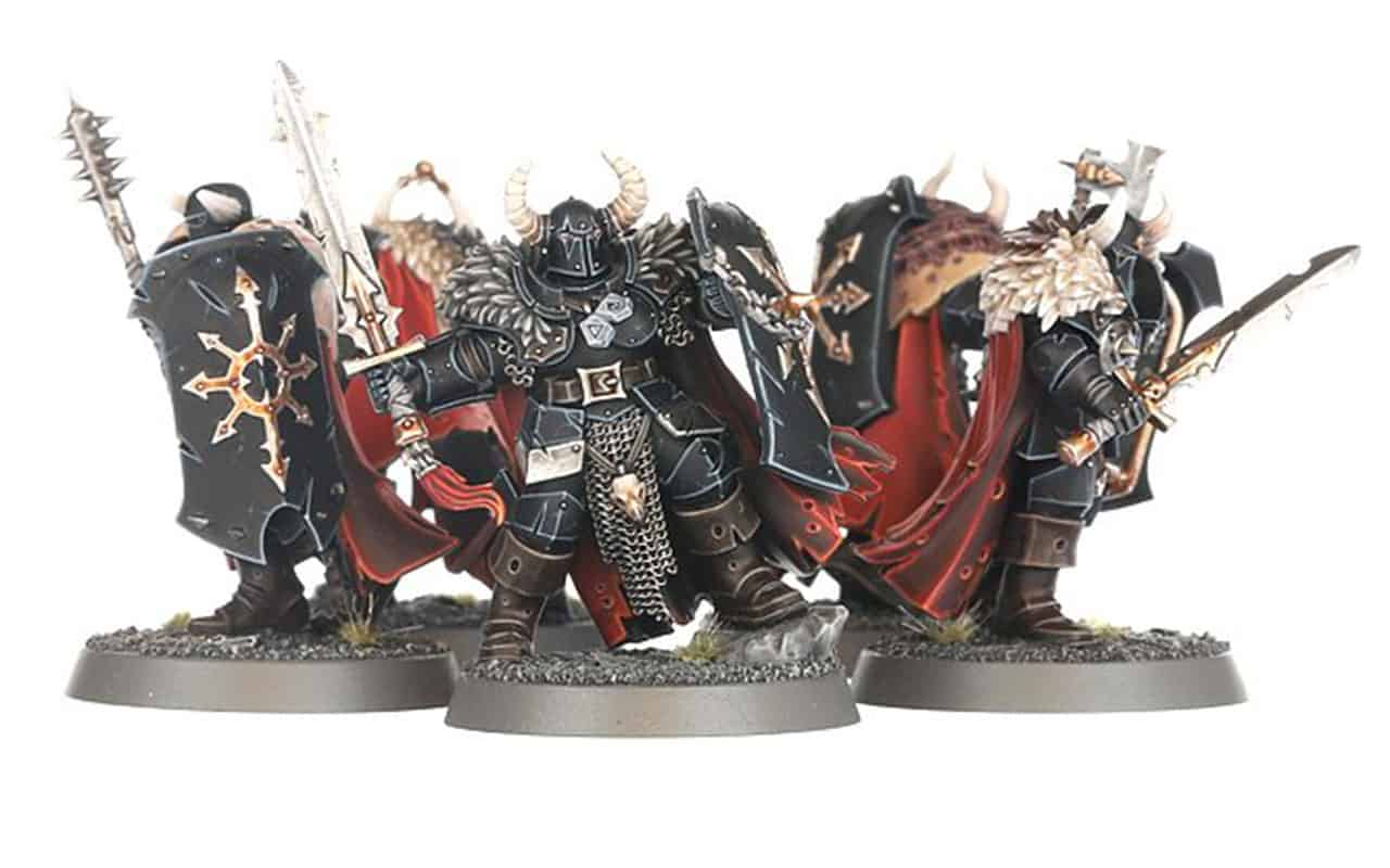 Warriors of Chaos in the slaves to darkness start collecting box