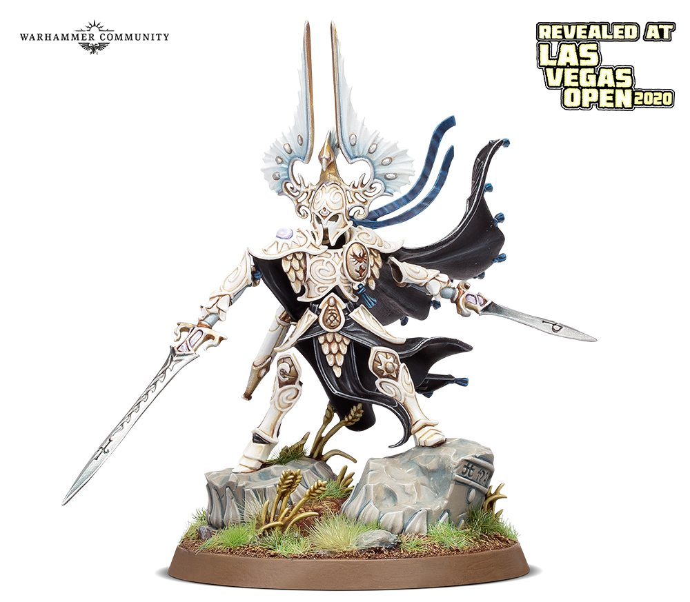 Light of Eltharion model for the Lumineth Realm-Lords faction