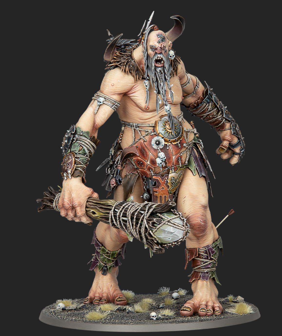 One of the new gargants miniature from the upcoming Sons of Behemat