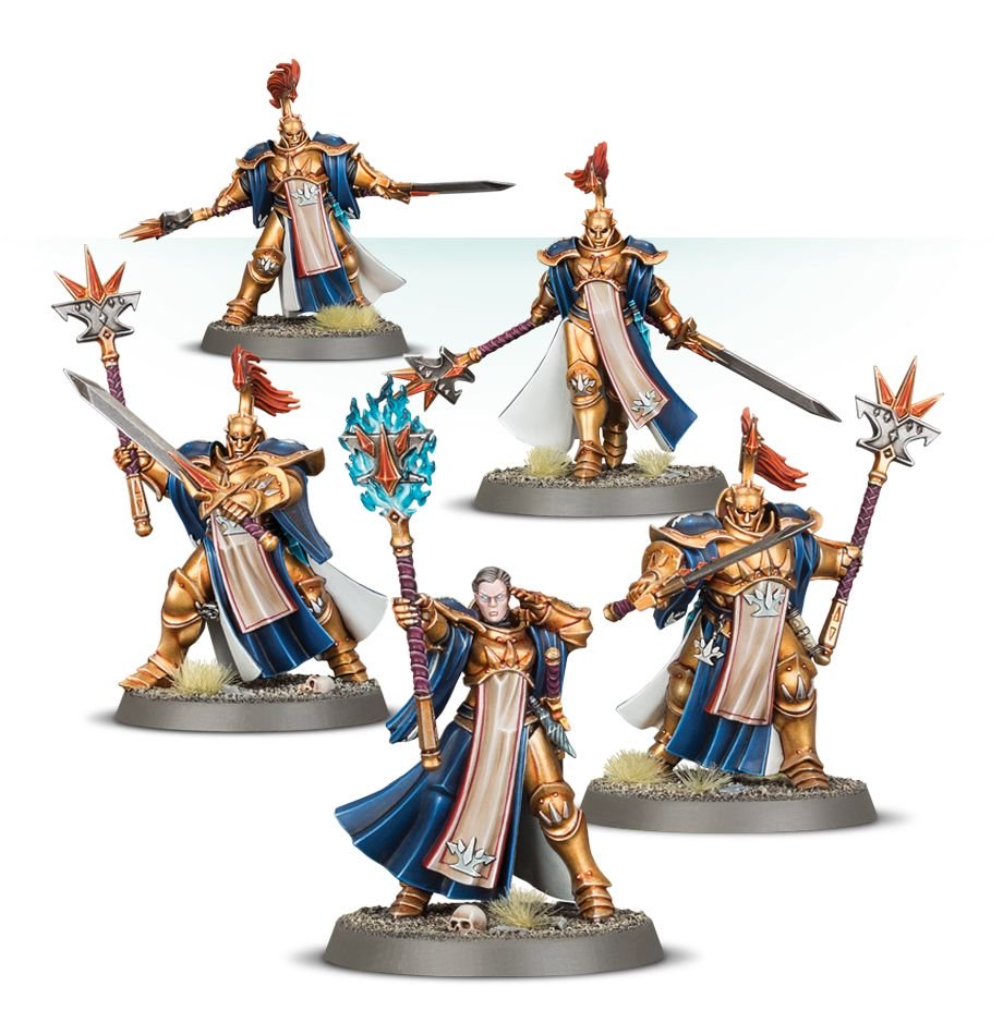 Evocators for the Stormcast Sacrosanct Warcry Warband