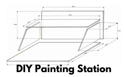 How to Build a Painting Station for Miniature Painting