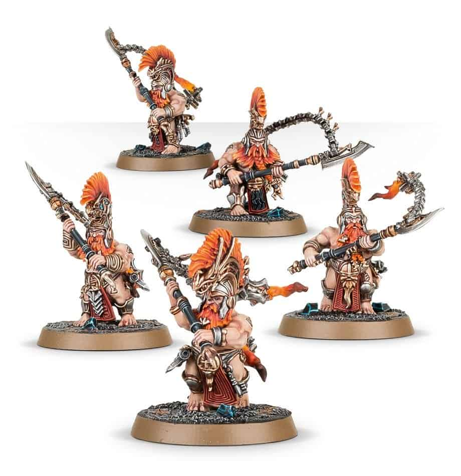Some Heathguard Berzerkers ready for your game of Warcry