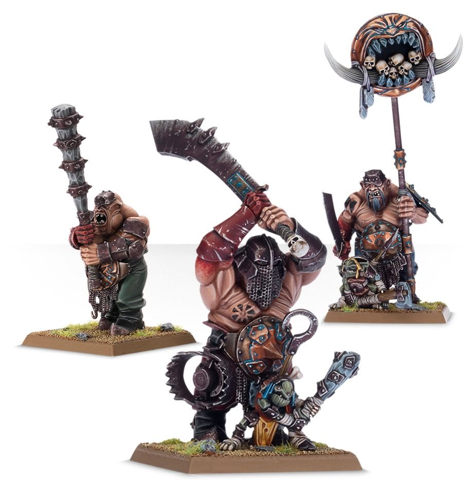 Ironguts for the Ogor Mawtribes Warband