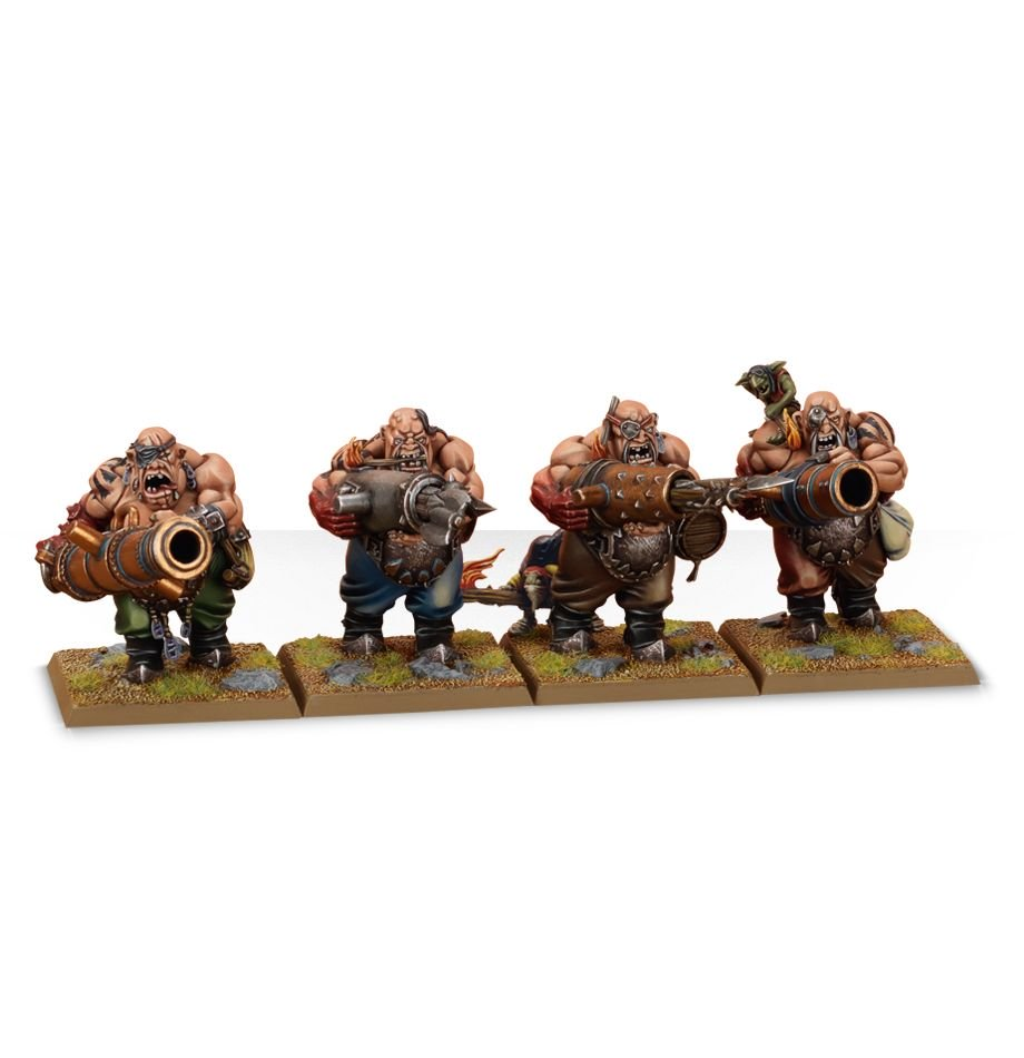 Leadbelchers in the Ogor Mawtribes Warband