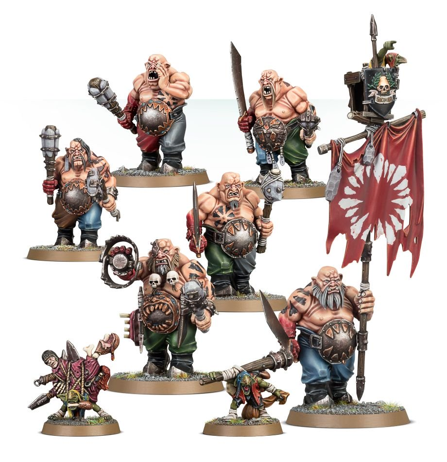Ogors for the Ogor Mawtribes Warcry Warband