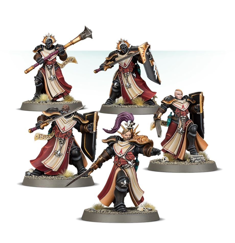 Sequitors for the Stormcast Sacrosanct Warcry Warband