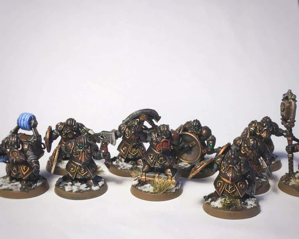 Kharadron Overlords converted from ironbreakers