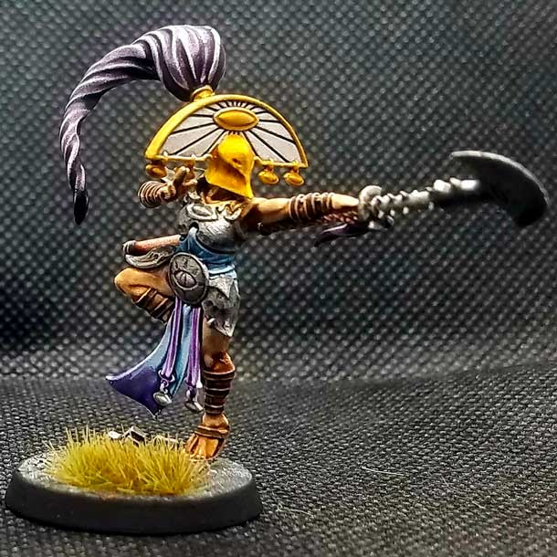 Iluminate miniature from the Cypher Lords Warband in warcry