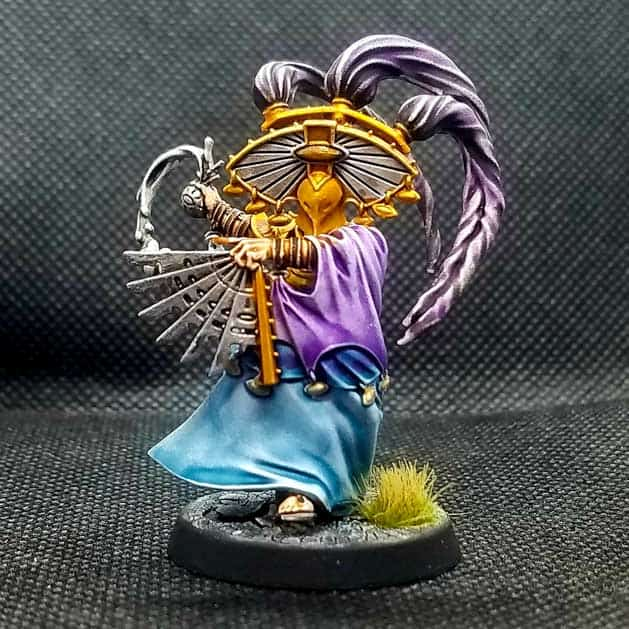 Thrallmaster miniatures from the Cypher Lords Warband in warcry