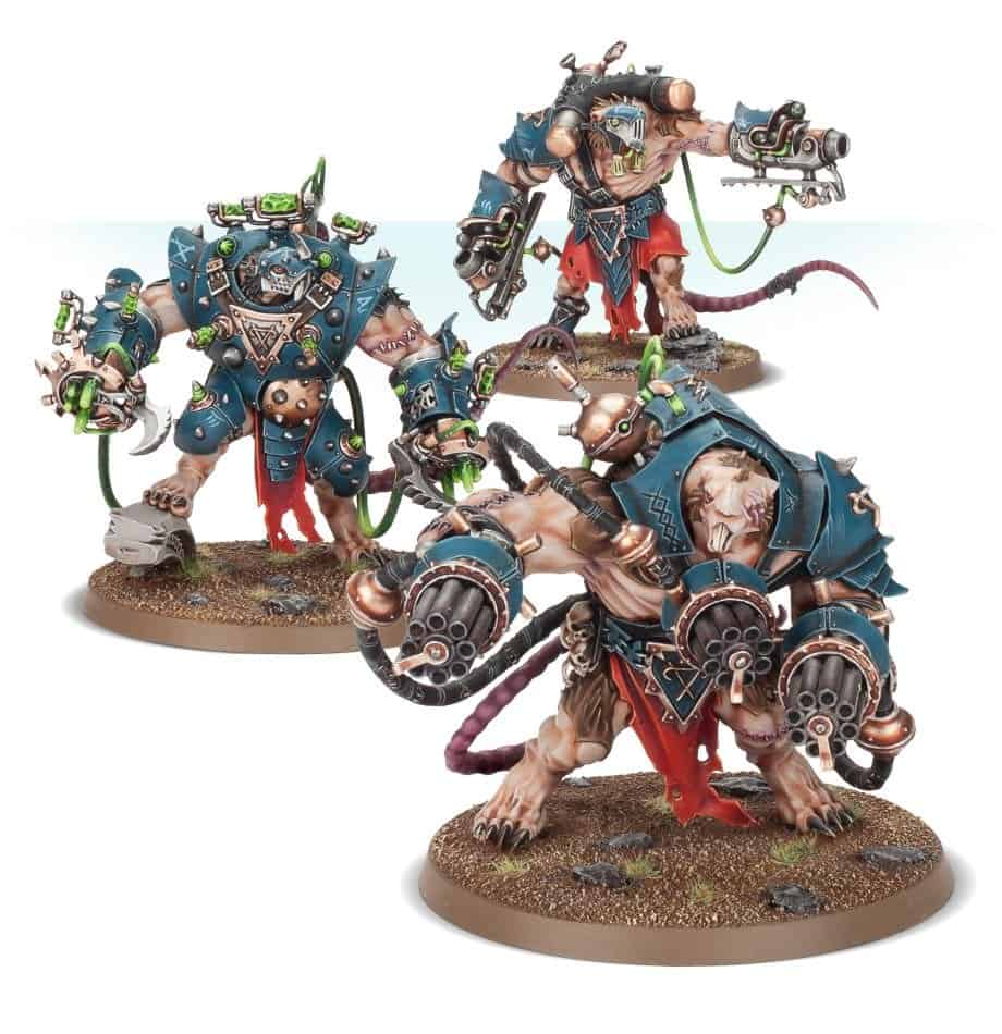 The amazing stormfiends ready to conquer the eightpoints in warcry
