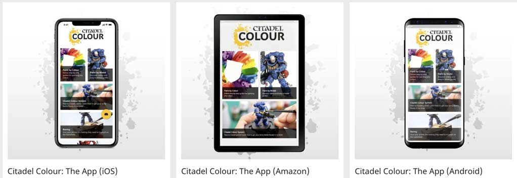 An overview of the various platforms where you can find the citadel colour app