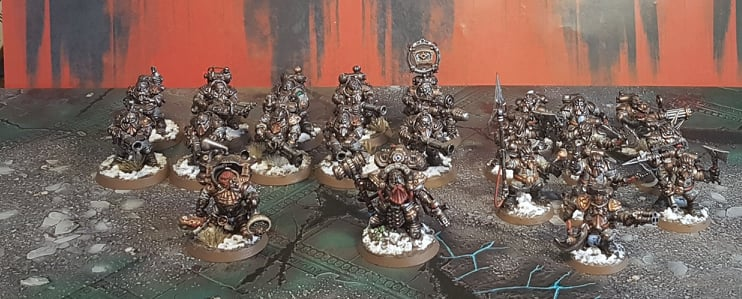 My Path to Glory starting army Kharadron Overlords