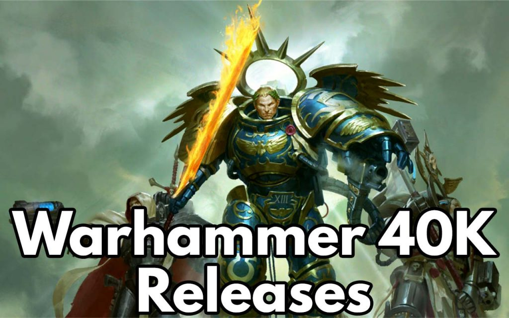 The feature image for Warhammer 40K Upcoming Releases