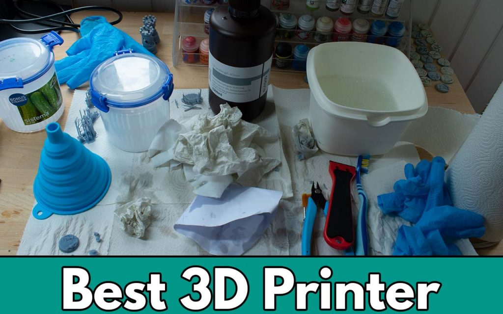 Feature image for the best 3d printer for miniatures