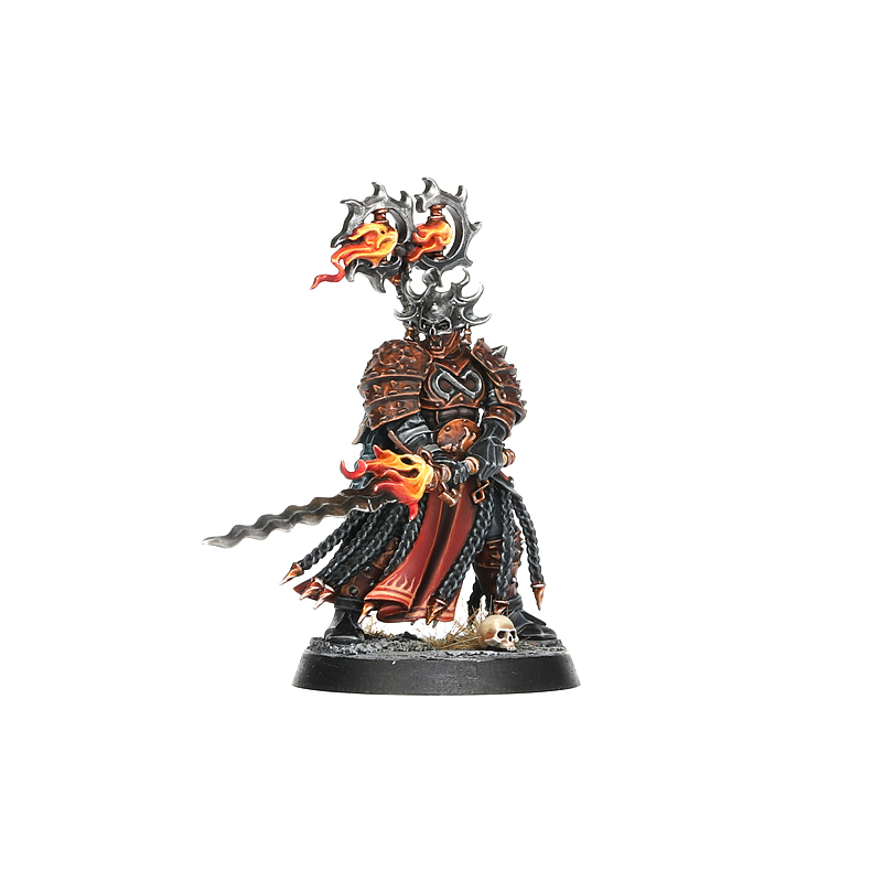 Blazing Lord for the Scions of the Flame warband in Warcry