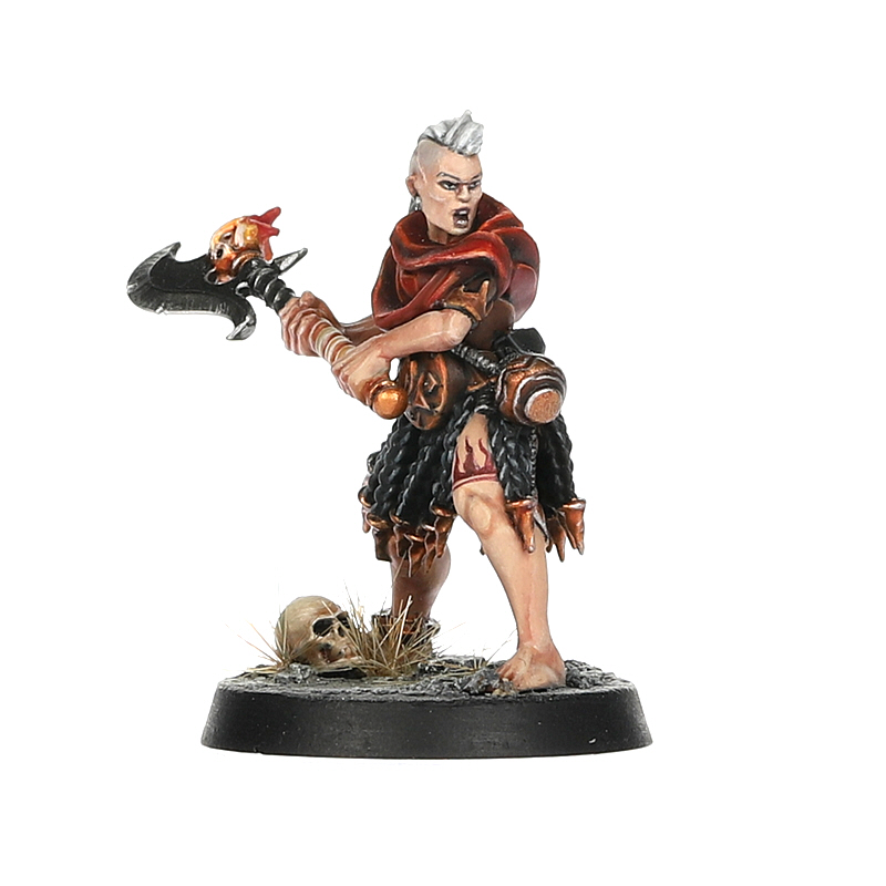 Initiate with Brazier Weapon and Flameburst Pot