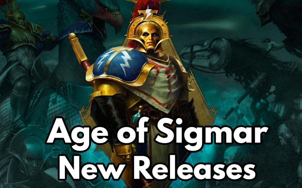 The feature image for Age of Sigmar upcoming releases