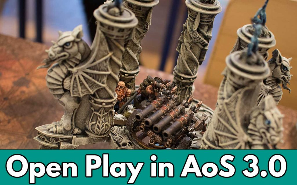 Open play in age of sigmar feature image