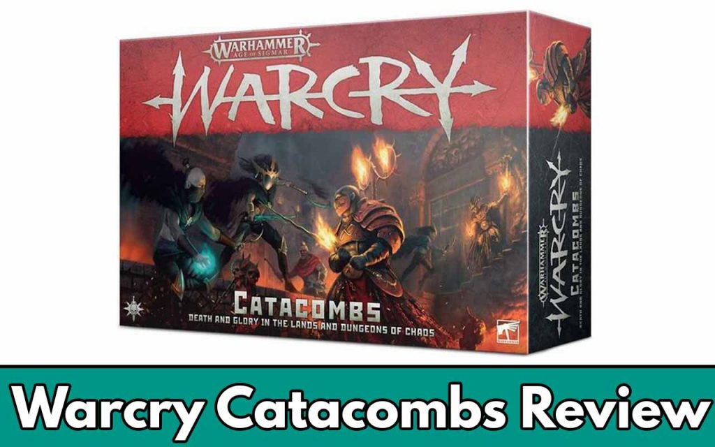Warcry Catacboms Review Feature Image (just showing the box)